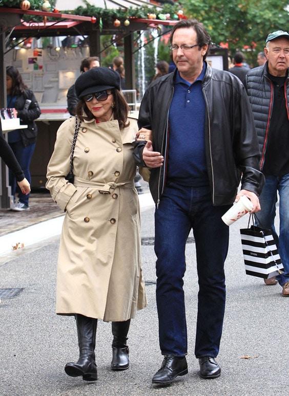 Джоан Коллинз с пятым мужем