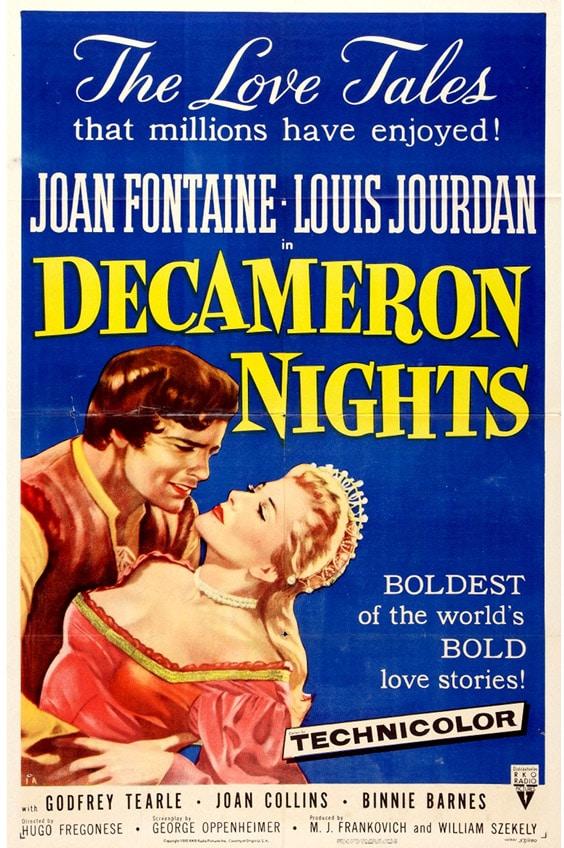 Постер фильма «Ночи Декамерона»