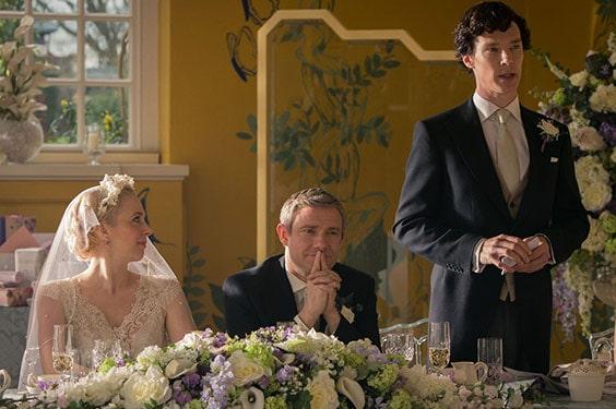«Шерлок»: свадьба Джона и Мэри