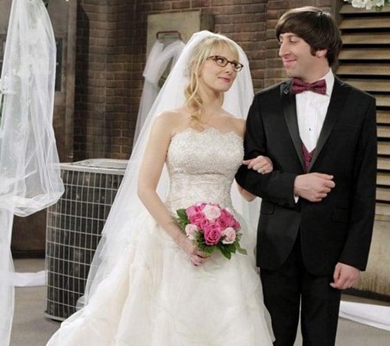 Свадьба Говарда и Бернадетт