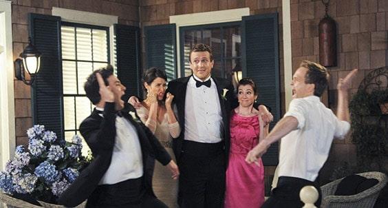 Перед свадьбой Лили и Маршалла в сериале «Как я встретил вашу маму»