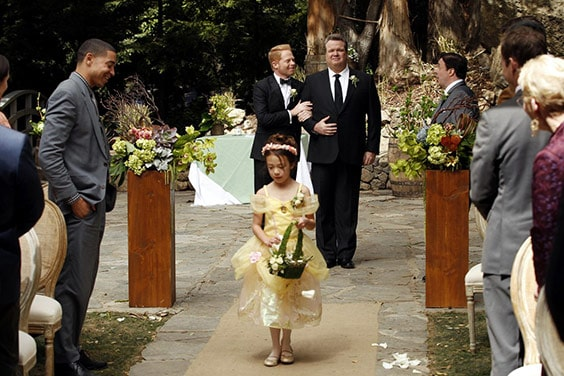 Свадьба Митчелла и его партнера Кэмерона