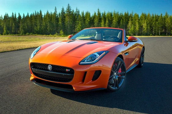 Родстер Jaguar F-Type Roadster