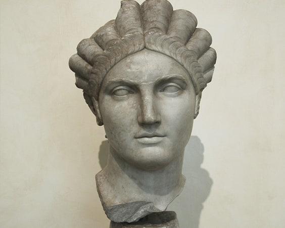 Косички были очень популярны в Древнем Риме