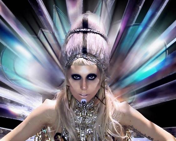 Певица-«инопланетянка» Леди Гага