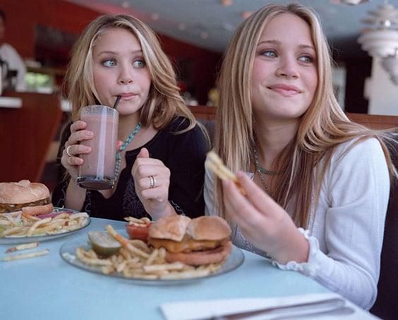 Мэри-Кейт и Эшли Олсен без грима