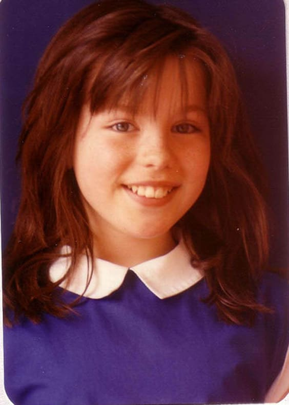 Кейт Бекинсейл в детстве