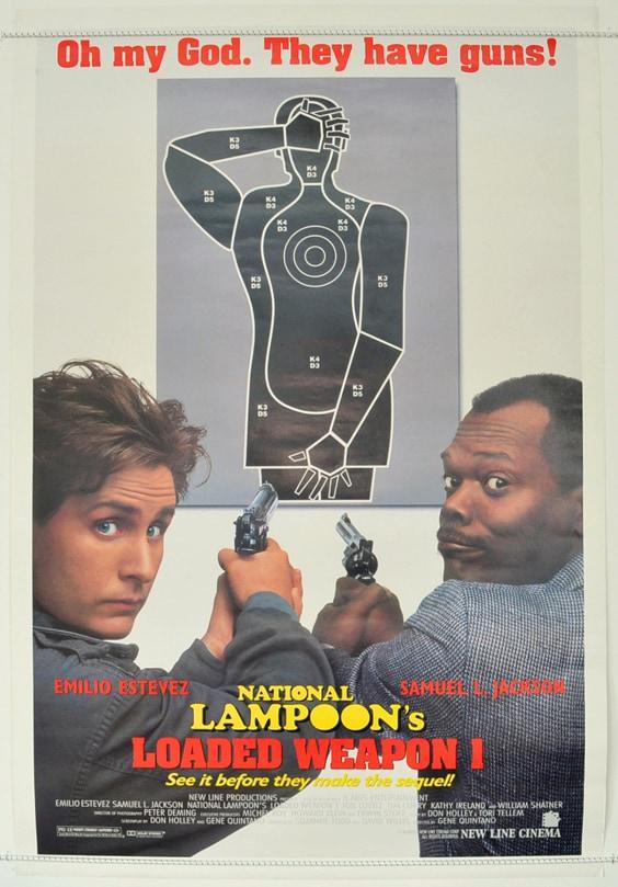 Постер фильма «Заряженное оружие 1»