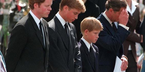 Сыновья принцессы Дианы
