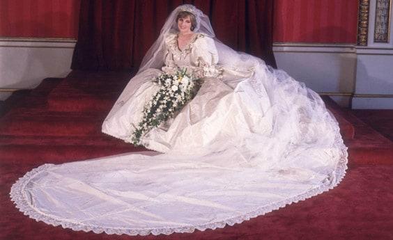 Свадебное платье Дианы