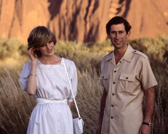 Диана и принц Чарльз
