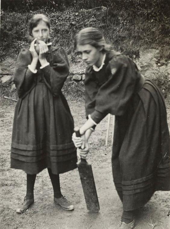Вирджиния Вульф с сестрой