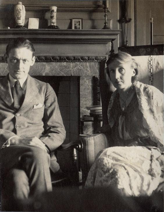 Вирджиния Вульф и ее муж Леонард
