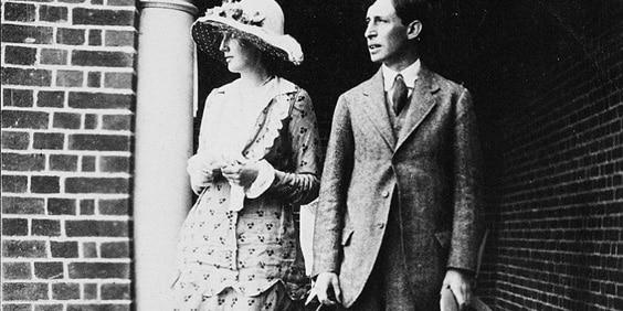 Вирджиния Вульф с мужем
