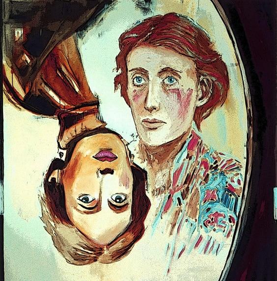 Портрет Вирджинии Вульф
