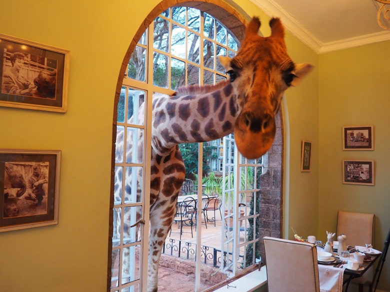 Отель Giraffe Manor