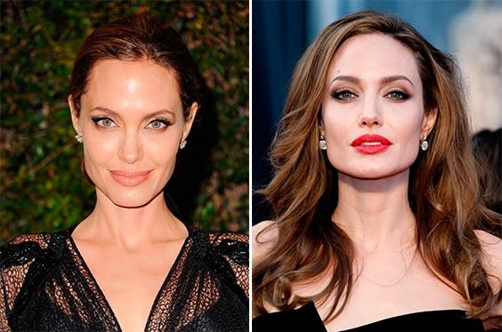 Повседневный макияж Анджелины Джоли