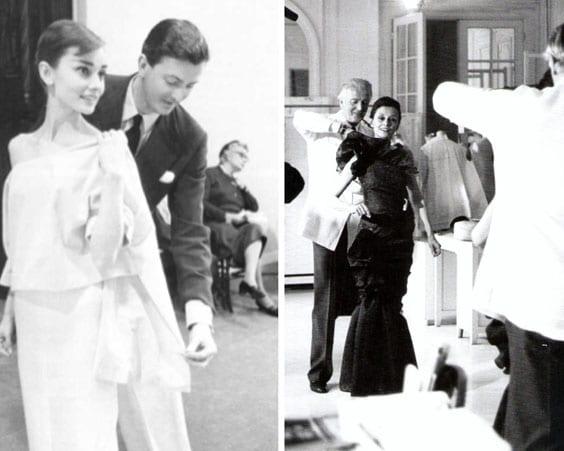 Одри Хепберн и Юбер Живанши были прекрасными друзьями