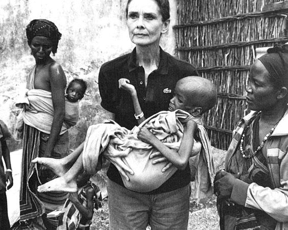 Одри Хепберн – посол доброй воли ЮНИСЕФ