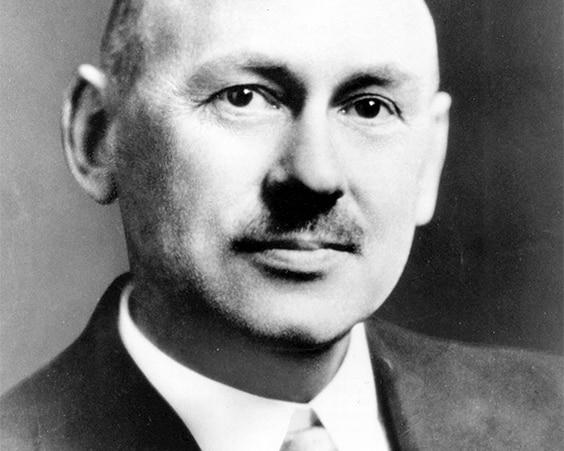 Писатель Роберт Хайнлайн