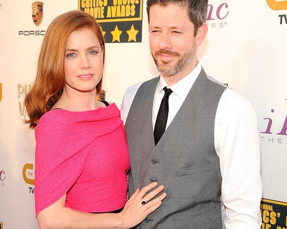 Эми Адамс с мужем